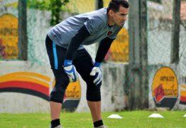 Goleiro Remerson será titular em momento decisivo do Botafogo-PB no Brasileiro