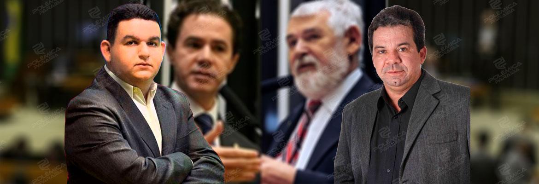 Fabiano gomes.Dercio Alcantara - DUELO DE MARQUETEIROS: Fabiano Gomes explica motivo de Dércio ter sido vetado da campanha de Veneziano ao Senado