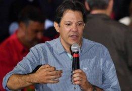 Haddad chega quarta-feira à Paraíba, onde faz campanha em João Pessoa e Campina