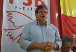 Confira a agenda de João Azevedo para esse fim de semana