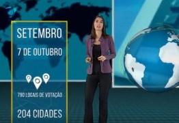 Eleitor brasileiro que vive no exterior terá 1,4 mil urnas para votar – VEJA VÍDEO!