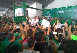 VEJA VÍDEOS: Convenção do PV oficializa chapa de Lucélio e Micheline, Cássio e Daniella