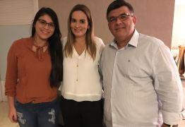 Daniella Ribeiro recebe apoio do prefeito de Caaporã