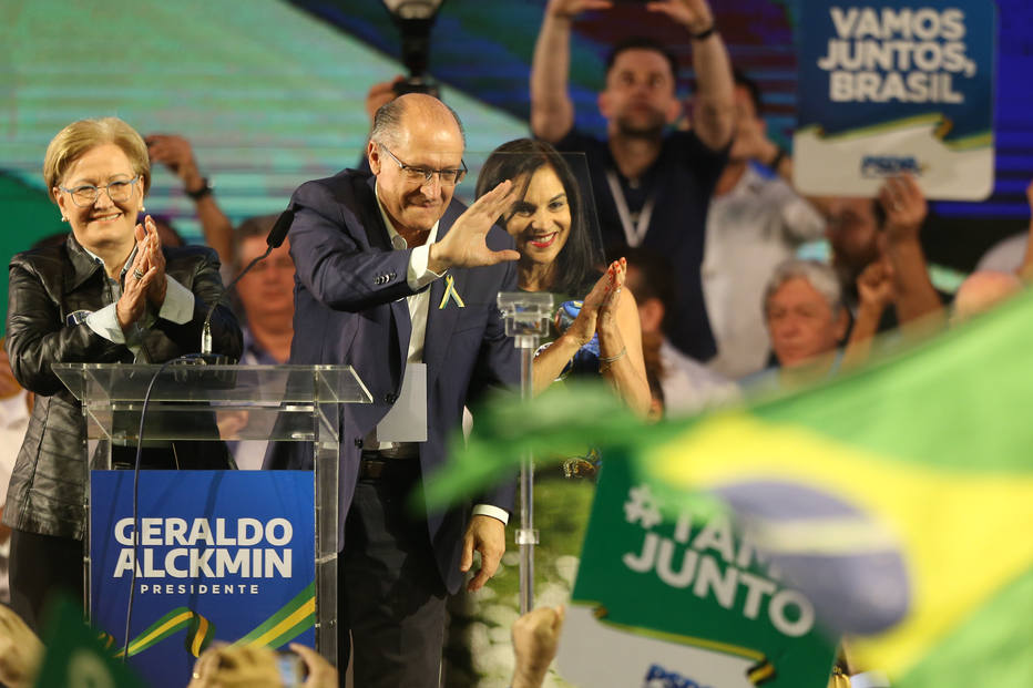 alckmin psdb candidato presidente - Em seu primeiro discurso como candidato Alckmin ataca Bolsonaro e Lula, 'herança de radicalismo'