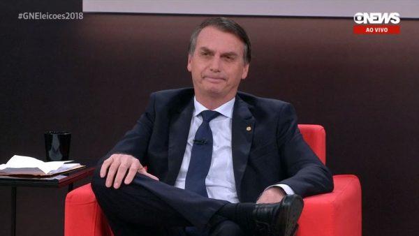bolsonaro globo news - Nas redes sociais Bolsonaro responde Miriam Leitão sobre apoio da Globo ao Regime Militar