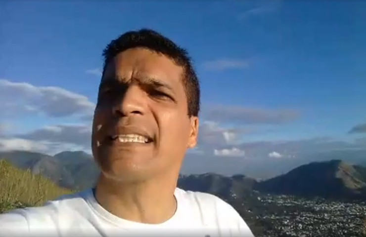 Cabo Daciolo sobe o monte para jejuar e diz que sociedade secreta quer matá-lo – VEJA VÍDEO!