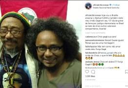 Irmão de Chico César continua em greve de fome por soltura de Lula