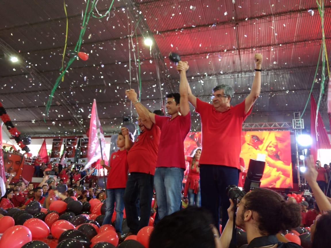 convenção mdb fim - VEJA VÍDEO: MDB confirma os nomes de Maranhão e Roberto Paulino na Majoritária