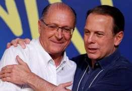 Geraldo Alckmin e Dória trocam elogios e tentam acabar com conflitos internos no PSDB