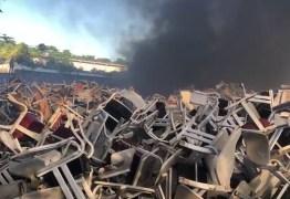 Incêndio em depósito da Secretaria de Educação da PB foi acidental, diz laudo