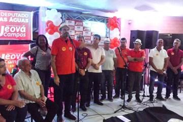 Jeová Campos mostra força ao reunir dois candidatos a senador pela majoritária, outros candidatos e muitos militantes em evento em JP