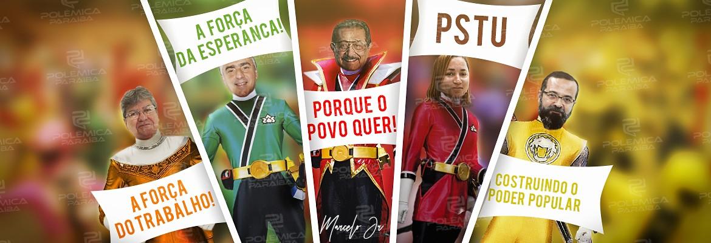 montagem171 - Coligações adotam 'povo', 'trabalho' e 'esperança' para tentar seduzir eleitor paraibano