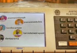 Seguidores e Eleitores: Na campanha desse ano os candidatos ao governo da Paraíba estão numa disputa pela aprovação na urna e no Instagram