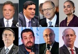 AO VIVO: Acompanhe o debate dos presidenciáveis na Rede TV