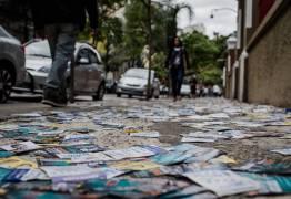 NADA DE MÍDIAS SOCIAIS: Santinhos somam mais da metade dos gastos com publicidade eleitoral