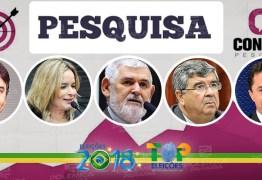 PESQUISA CONSULT: Cássio e Veneziano lideram preferência do eleitorado paraibano para o Senado Federal