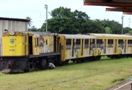 Mulher é atropelada por trem em Cabedelo