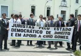 Juristas lançam manifesto pelo estado democrático de direito e em apoio a Ciro Gomes