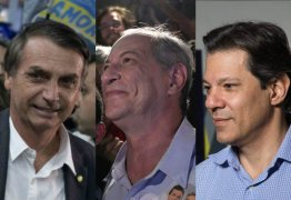 PESQUISA DATAFOLHA: Jair Bolsonaro chegou a 26%, Fernando Haddad subiu para 13% e está empatado com Ciro Gomes – VEJA REJEIÇÃO
