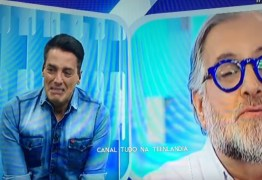 """VEJA VÍDEO:  Leo Dias desabafa sobre vício em drogas, se despede do Fofocalizando e cai no choro ao vivo: """"Sou a ovelha negra do SBT"""""""