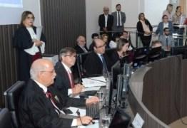 Em sessão histórica Pleno do TJPB inicia processo de escolha de novo desembargador