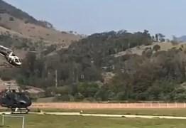 VEJA VÍDEO: Mais um helicóptero irá ajudar a polícia militar da Paraíba