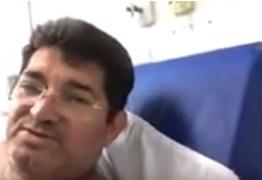 Vereador José Eudes, de Cabedelo, é internado e poderá ser submetido a cirurgia – VEJA VÍDEO