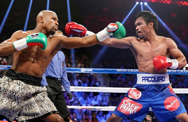 Floyd Mayweather Manny Pacquiao - Floyd Mayweather desiste da aposentadoria e confirma revanche com Manny Pacquiao