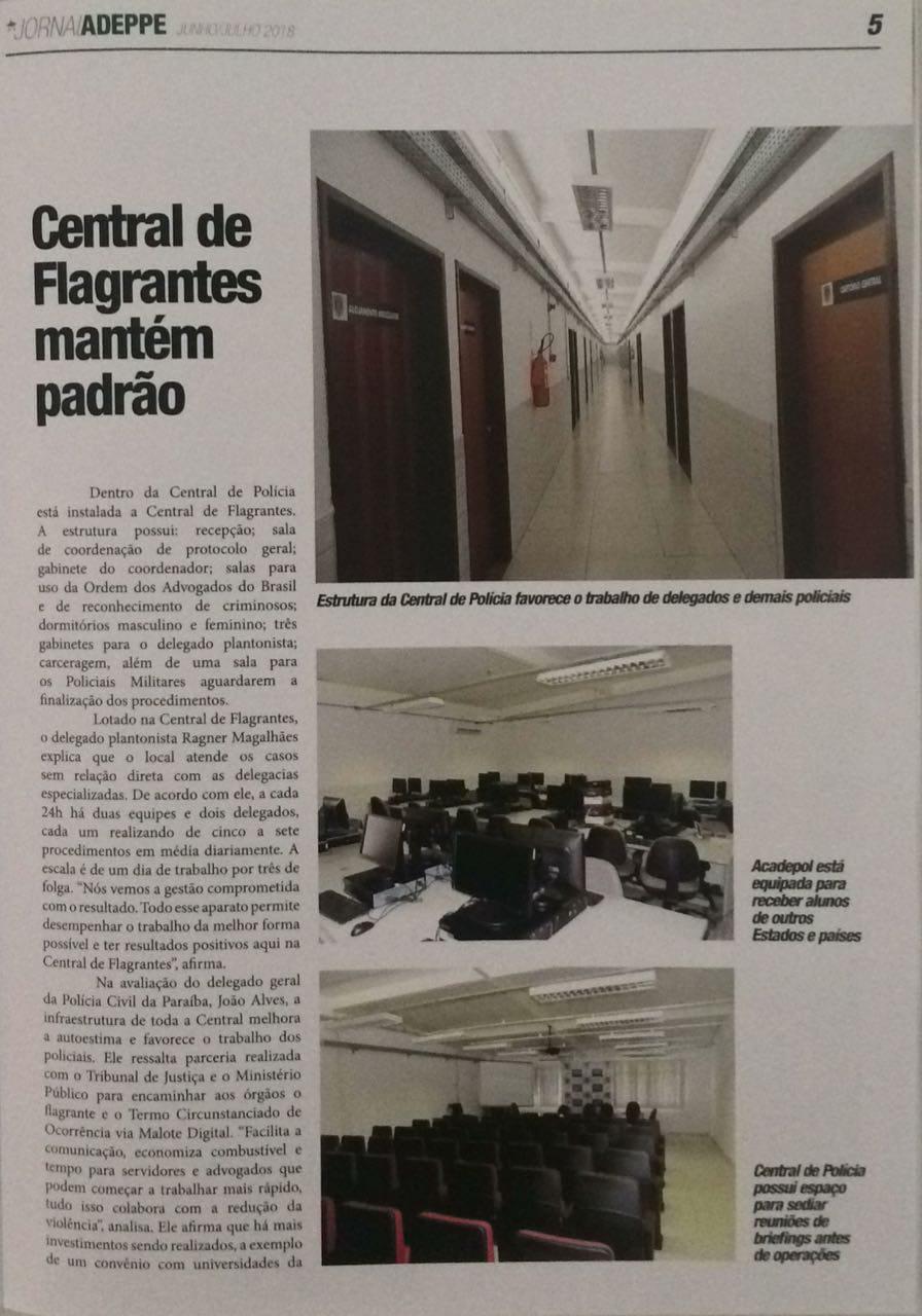 IMG 20180924 WA0013 - RECONHECIMENTO: Associação de Delegados de Pernambuco destaca redução de violência na Paraíba e infraestrutura da Acadepol e Central de Polícia