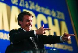 NOVA PESQUISA PRESIDENCIAL: Sem Lula, Bolsonaro aparece em primeiro lugar com 26,6% das intenções de votos