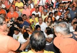 Carreata em Lucena: João destaca ações do Governo