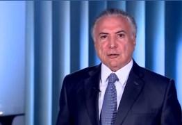 Temer divulga vídeo no Twitter para contestar críticas de Alckmin ao governo: 'Fale a verdade'; confira