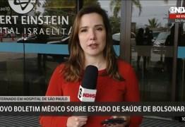 Bolsonaro tem 'nítida melhora clínica', diz boletim médico