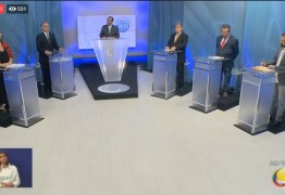 Minuto a Minuto: Saiba como foi o debate com os candidatos ao Governo da Paraíba