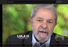 No Twitter, PT divulga vídeo de Lula proibido na TV: VEJA VÍDEO