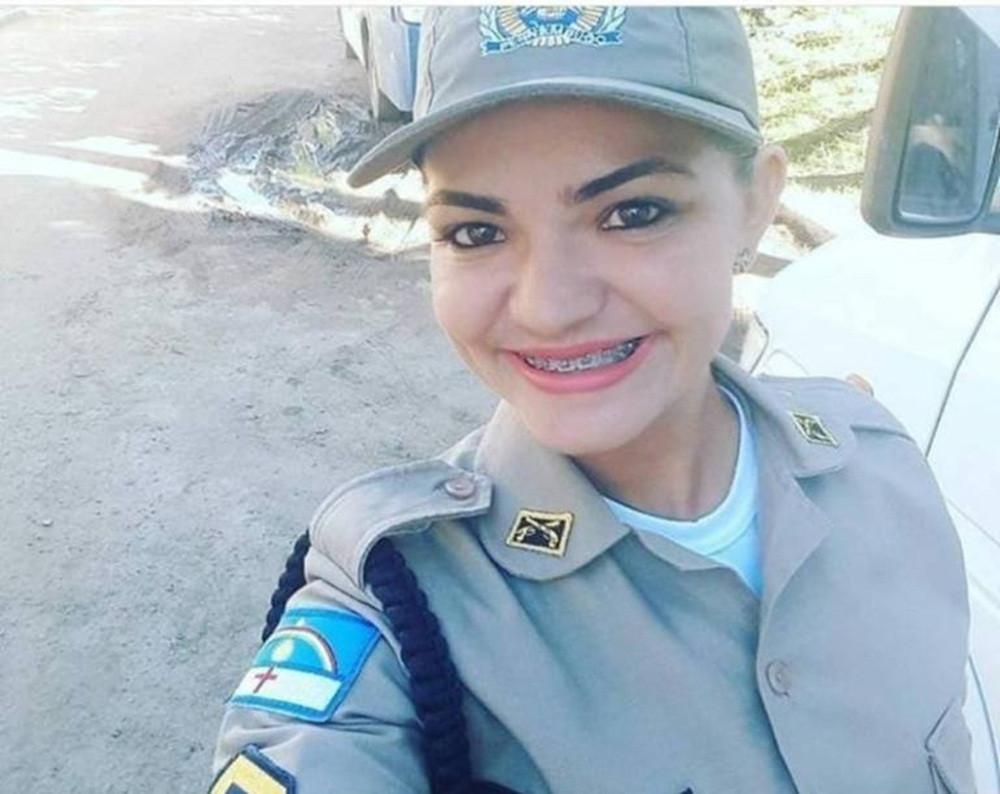 aline araujo - VIOLÊNCIA: Policial militar é encontrada morta dentro de casa; corpo tinha marcas de bala