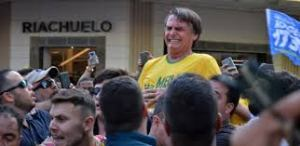 bolsonaro 3 300x146 - UM RASTILHO DE SANGUE: Não há uma grande tragédia no esfaqueamento de Bolsonaro, fato inteiramente previsível - Por Gilvan Freire