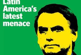 Bolsonaro é capa da 'Economist: 'ameaça ao Brasil e à América Latina'