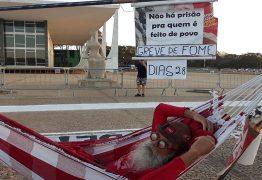 POR LULA LIVRE: Bancário paraibano que fez greve de fome em Brasília desembarca em João Pessoa nesta terça-feira