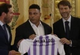 Ronaldo Fenômeno é apresentado como novo dono de time da primeira divisão espanhola