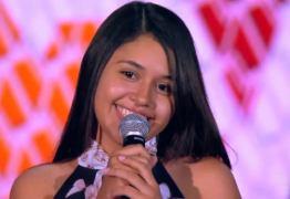 DA PARAÍBA PARA O MUNDO: Vencedora do 'The Voice Kids', Eduarda Brasil comemora primeiro show no exterior