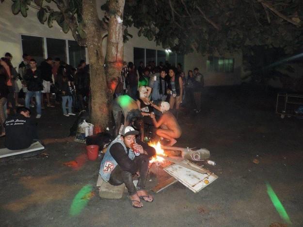 festa7 625x468 1 - [+18] Festa em Campus Universitário mistura satanismo, drogas e orgias - IMAGENS FORTES