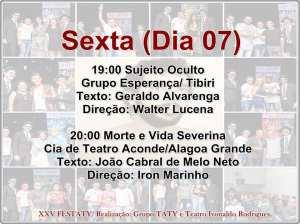 festaty2 300x224 - XXV FESTATY: Festival de teatro em Santa Rita reune 30 espetáculos e premia melhores destaques