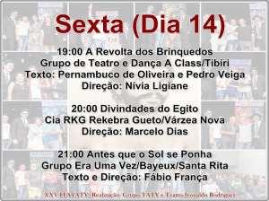 festaty9 300x224 - XXV FESTATY: Festival de teatro em Santa Rita reune 30 espetáculos e premia melhores destaques