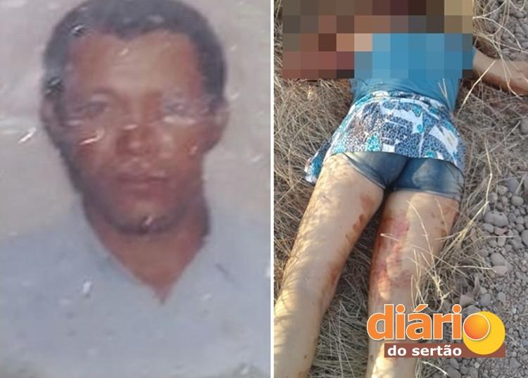 francisco marcondes batista cvli 1 - IMAGENS FORTES! Em menos de 12 horas, homem e mulher assassinados na região de Sousa