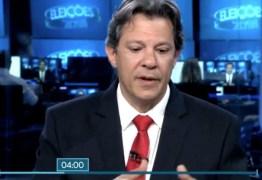 ENTREVISTA NO JN: Haddad saúda Lula e diz que PT combateu corrupção no governo; VEJA VÍDEO