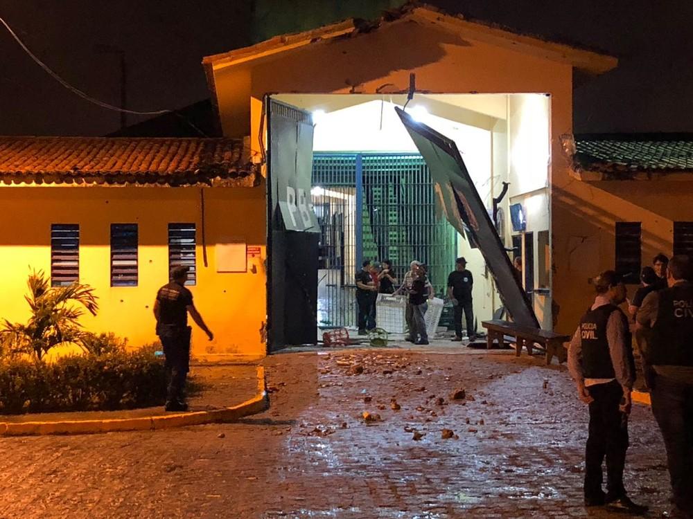 pb1 explosao - Fugitivo do PB1 é capturado com crise convulsiva, no bairro de Mangabeira