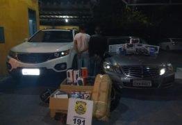 PRF prende homem suspeito de fraudar documento de carro de luxo