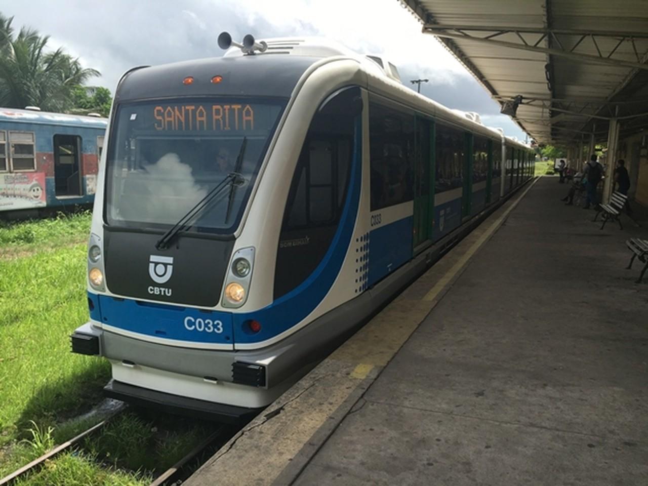 trensvltpb - Chuvas prejudicam 2.340 usuários de trens na Região Metropolitana João Pessoa, diz CBTU