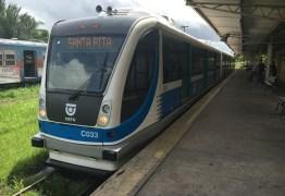 Tarifa de trens começa a custar R$ 0,70 a partir desta segunda-feira (6), na Grande João Pessoa